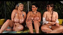 Angelina Castro OutDoors Oily ThreeSome and Sex...