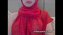 Arab Teen In Red Hijab Exposes Her Pretty Breas... Thumbnail