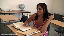 Hot Schoolgirl Gets Pounded By Her Teacher!
