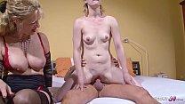 German Wife Suprise Husband with Teen Hooker an...