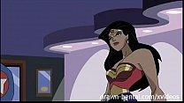 Superhero Hentai - Wonder Woman vs Captain America
