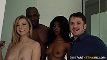 Daizy Cooper & Carolina Sweets Interracial - Cu...