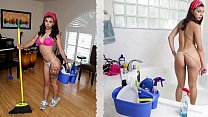 Download video bokep BANGBROS - Cute Brazilian Maid Gina Valentina F... 3gp terbaru