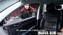 Mofos - Stranded Teens - Brunette Gets in a Strangers Car starring  Victoria Sweet