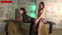 Our Nutless Sissy Whore FEMDOM CASTRATION PANTY...