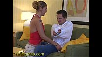 YesSIgnals - Hot blonde blind date humps him an...