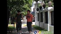 Big fat cock Santiago blows Gustavos dick and f... Thumbnail