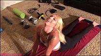 Chanel Grey Deepthroats Yoga Instructors Cock Fucked Hard & Squirts