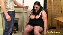 bbw babe rebecca ryder as real flexi doll