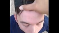 Outdoor blow job Thumbnail