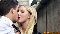 Femdom Chantelle Fox and pal bj action