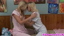 Lesbian girlfriends kissing and grinding Thumbnail