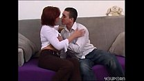 Very attractive mature woman takes it deep in h...