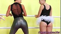 Ballerina gets ass fucked