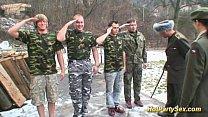 military bukkake orgy Thumbnail