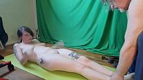 Sexy brunette exercises fully naked OnlyFans Pr...