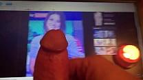 Natalie Sawyer Cum Tribute - Sky Sports News Presenter