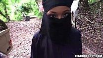 arab girl must wear hijab while getting fucked Thumbnail
