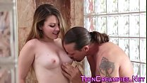 Doggystyle teen creampied Thumbnail