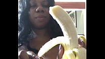 DickSucking a Banana with SEXFEENE Thumbnail