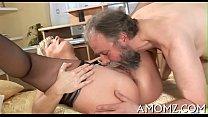 Older hottie goes wild in sex Thumbnail