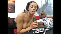 Cute face babe fucking with big black dick