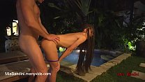 EVENING FUCK FOR HOT LITTLE TEEN NEAR THE POOL ...