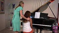 Samantha Ryan and Allie Haze at the Piano Thumbnail