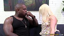 Kristen Jordan picks up a black guy and getting...