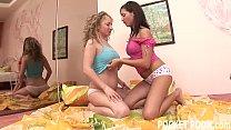 Ass licking amateur teen lesbians