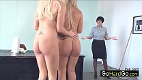 Two bimbos in high heels Bella Rose Thumbnail