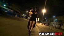Amateur Punishment with fantasy cosplayer. Span...