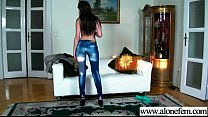 (liona) Alone Naughty Girl Play With Sex Things Till Orgasm movie-30 Thumbnail