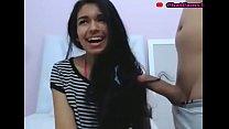 teen colombian hairjob and cum in hair long hair hair