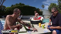 BANGBROS - Petite Teen Alaina Dawson Gets Some Dick From Daddy's Friend
