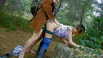 Teen Punk Fondled And Fucked In The Forest