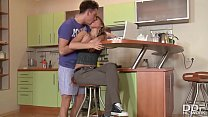 Russian Babe Jessy ditches her homework for Bal...
