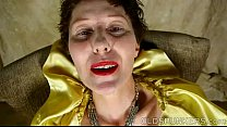 Horny old spunker likes to talk dirty and frig ...