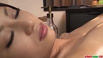 Aoi Miyama loves pussy so she gets steamy in le...