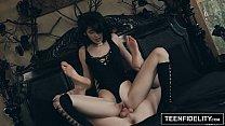 TEENFIDELITY Goth Slut Ivy Aura Creampied