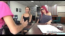 2 hot latina teens fuck Maritza Guitierrez And Lucy Delgado 4 51