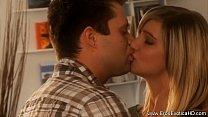 MILF Lover Kissing Beauty