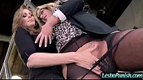 Hot Lez Get Toy Sex Punishment From Mean Lesbo ...