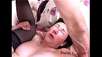 Orgasm mature naive french with a stranger Fren...
