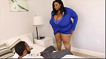 Huge Tit Ebony BBW Cotton Candi Fucks Next Door...