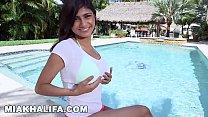MIA KHALIFA - In A Bikini, Getting Interviewed,... Thumbnail