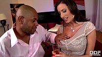 Early days Interracial for Busty Sex Goddess Se...