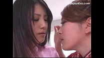 Cute Asian Girl In White Stocking Getting Her N...
