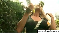 Hot Sexy Feminine Girl Playing With Toys video-25
