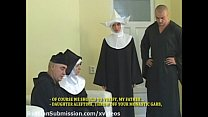 Sassy blond nun takes sexual punishment in the ...